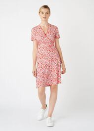 Darcie Dress, Red Ivory, hi-res