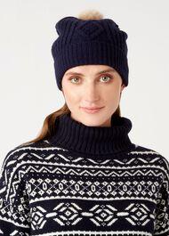 Eva Hat, Navy, hi-res