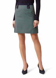Farrah Wool Blend Skirt, Multi, hi-res