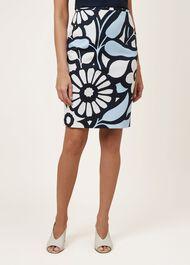 Elinor Skirt, Blue Multi, hi-res