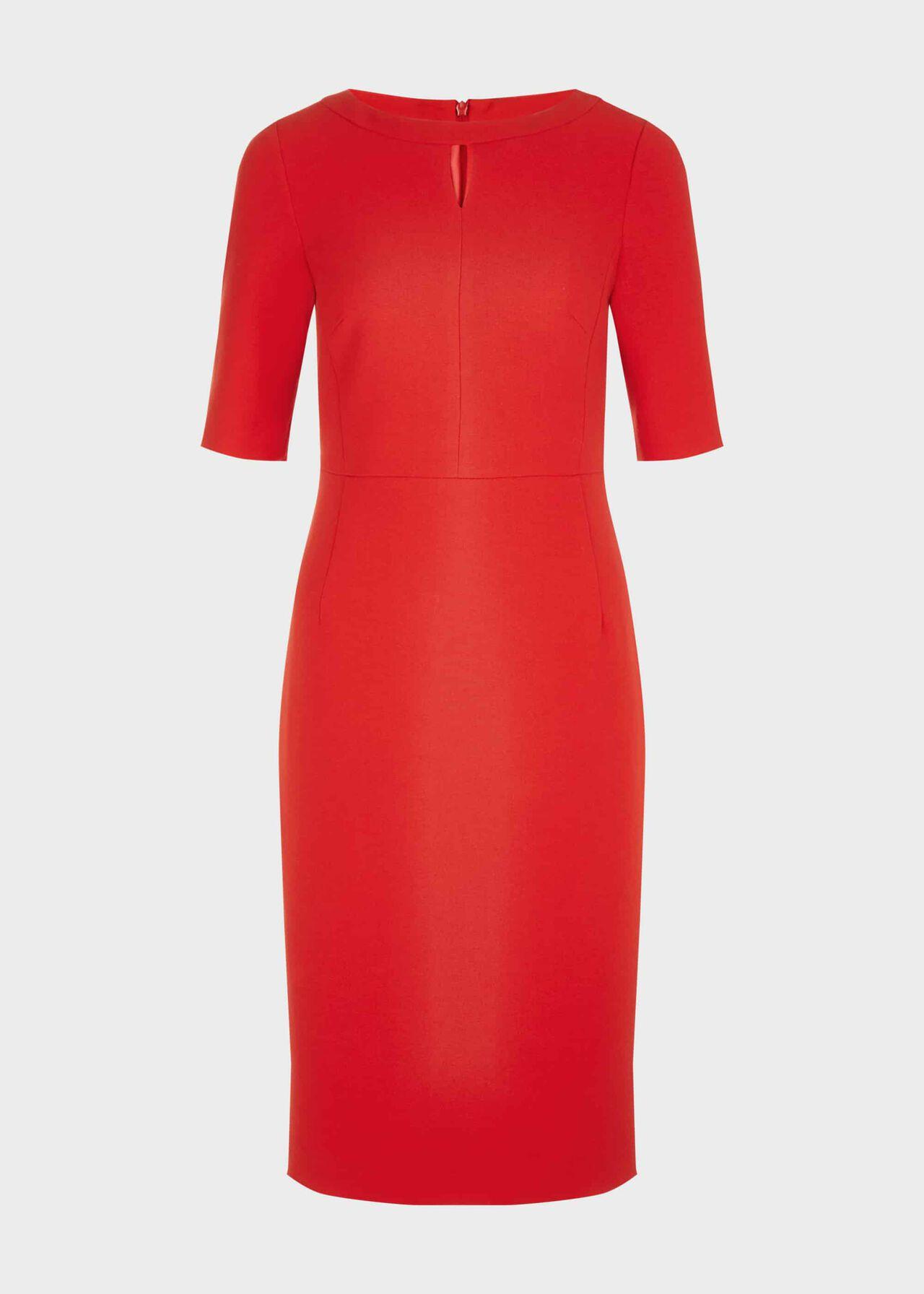 Maura Dress Red