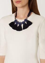 Carmen Necklace, Blue, hi-res