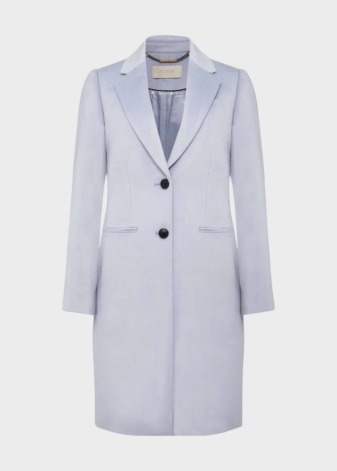 Tilda Wool Coat Pale Blue