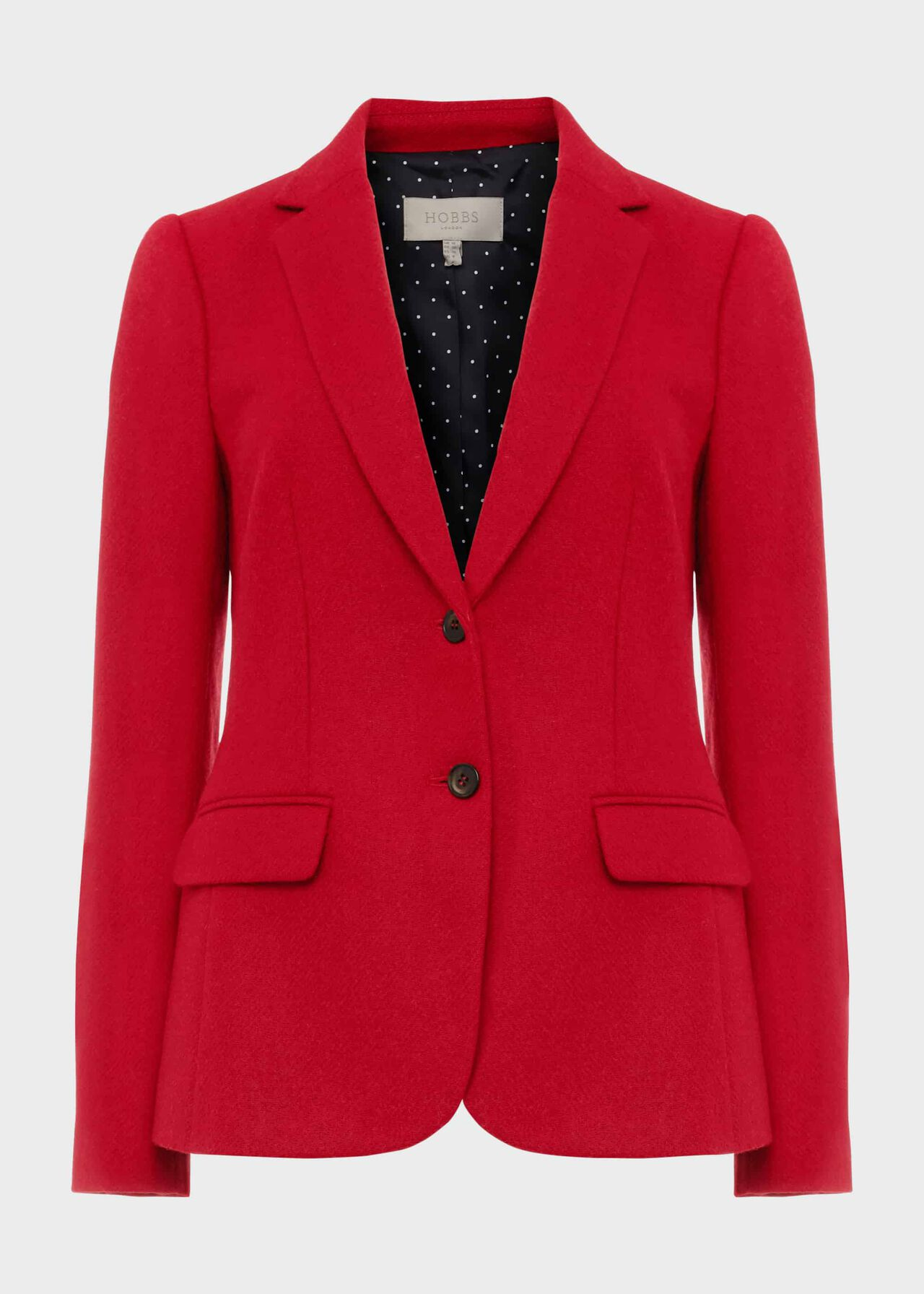 Jessica Wool Jacket Hobbs Red