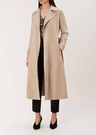 Allie Trench Coat, Neutral, hi-res