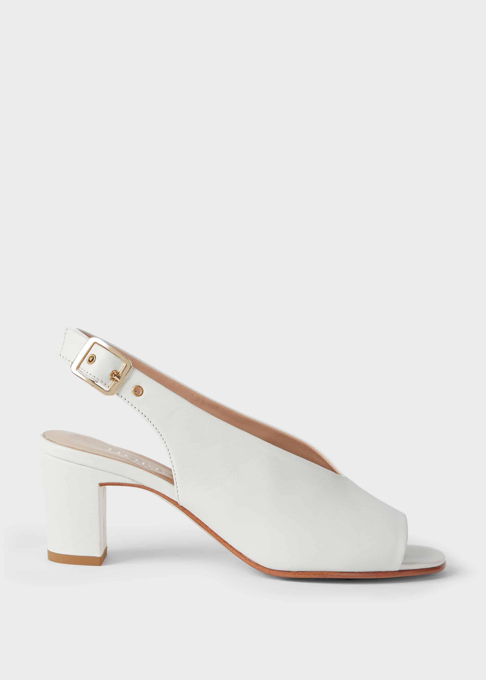 Kali Leather Block Heel Sandals | Hobbs