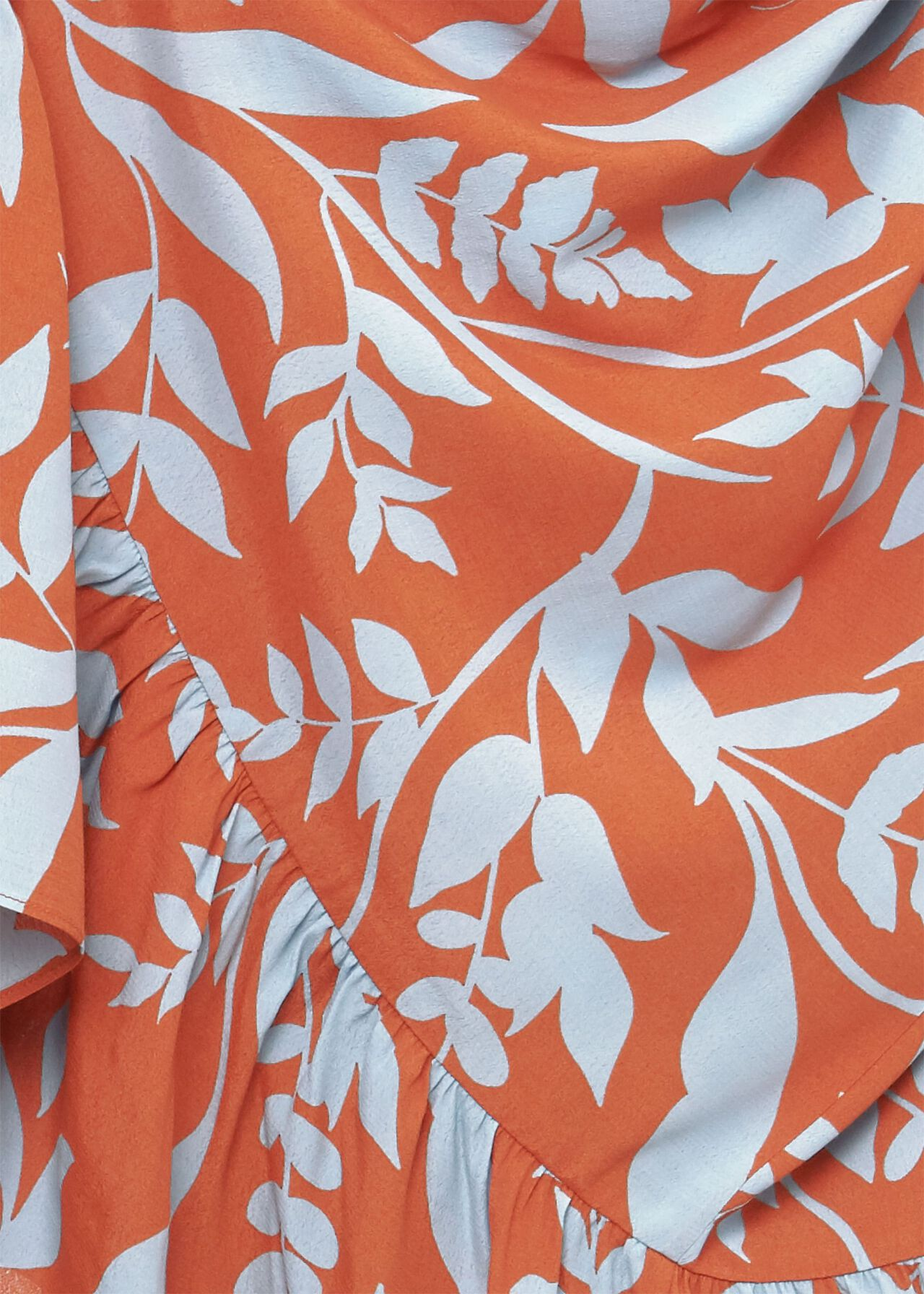 Magda Printed Midi Dress, Brandy Snap Blu, hi-res