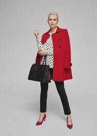 Adrienne Coat, Red, hi-res