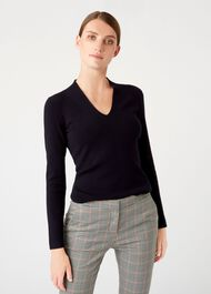 Ingrid Sweater, Navy, hi-res