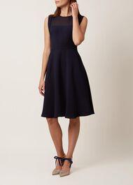 Gillian Dress, Navy, hi-res