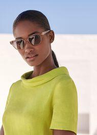 Amber Sunglasses, Nude, hi-res