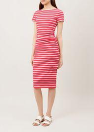 Bridget Dress, Flamingo Pink, hi-res