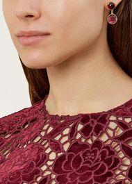 Masie Earring, Pink, hi-res