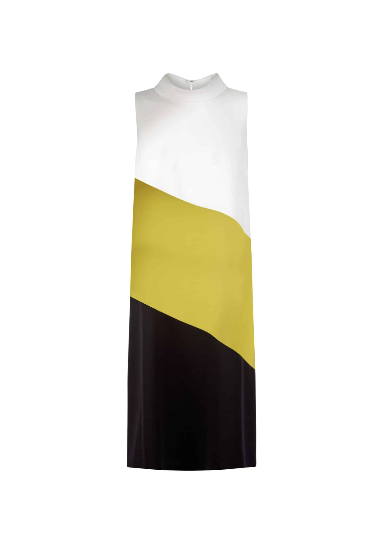 Cecile Dress Ivry Chartreuse