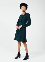 Lillian Dress, Leaf Green, hi-res