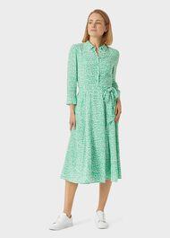 Frederica Dress, Green Multi, hi-res