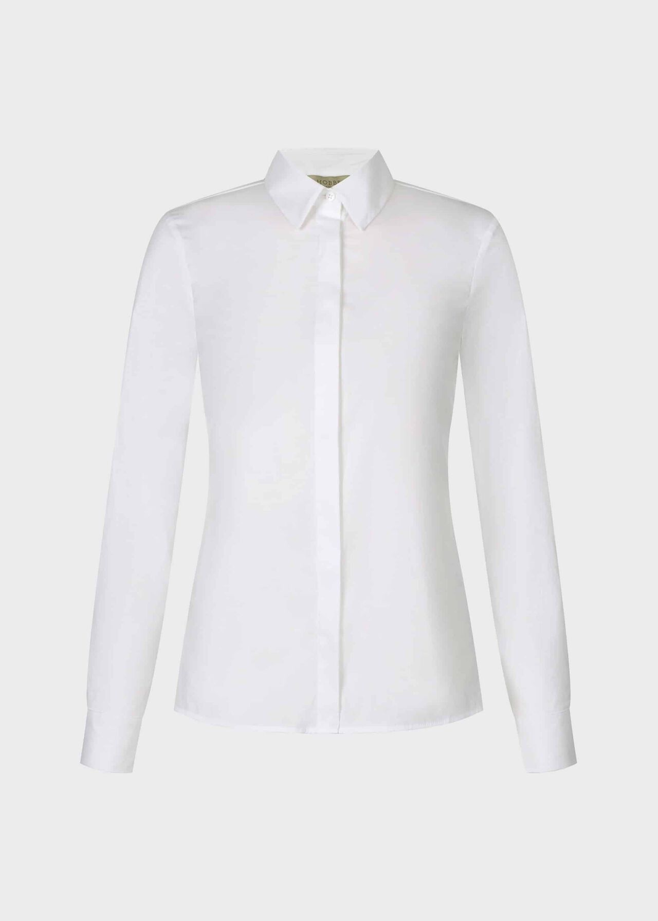 Petite Vic Shirt White