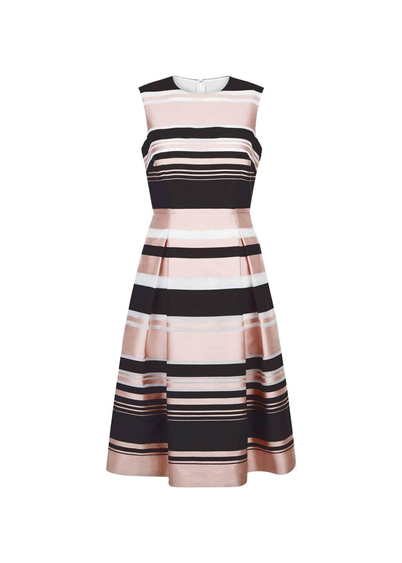 Bridgette Stripe Dress Pink Multi