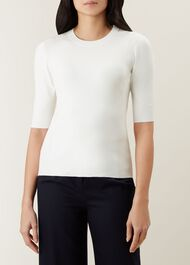 Rachel Sweater, Ivory, hi-res