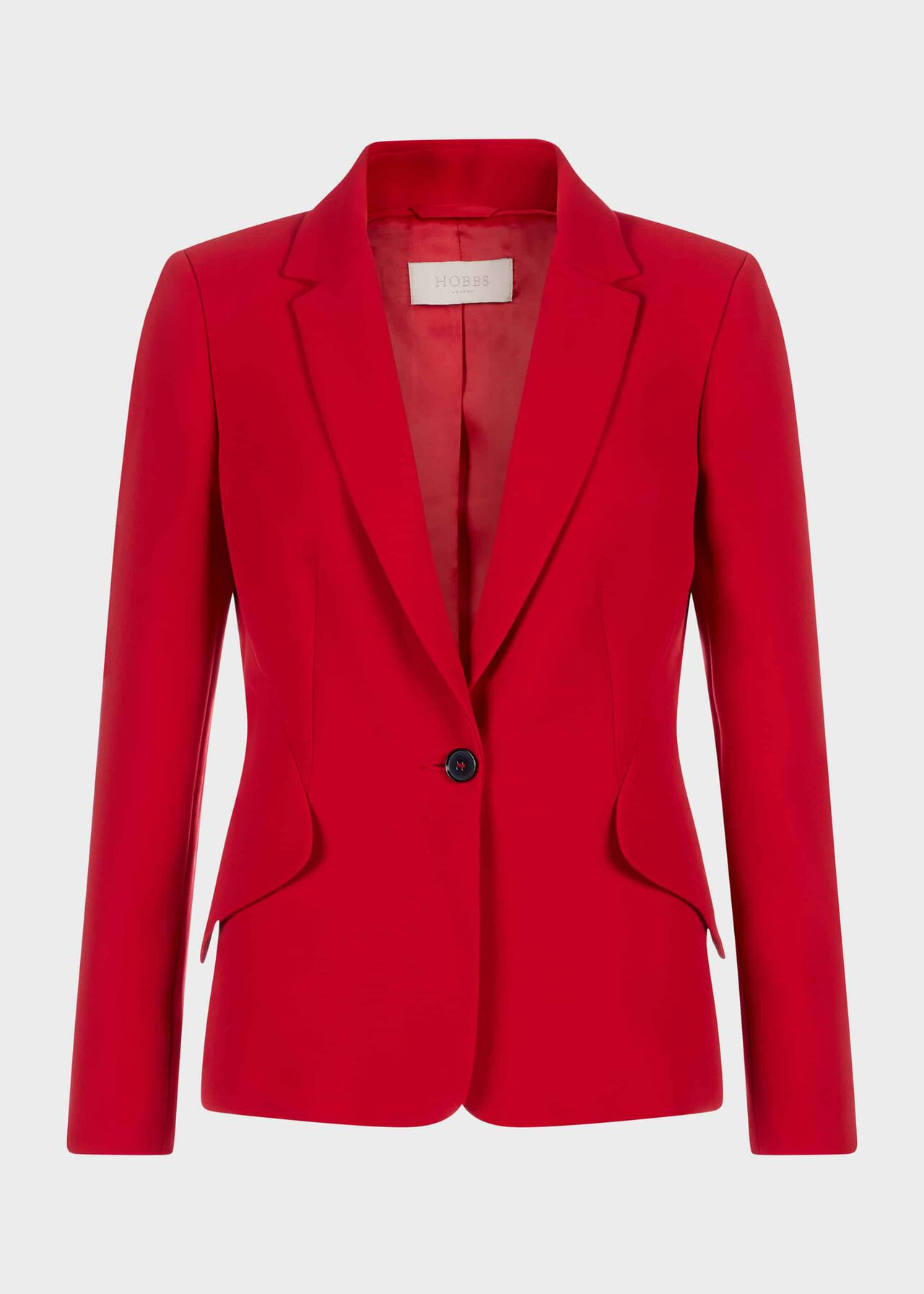 Zinnia Collar Jacket Red
