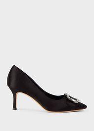 Lucinda Court Shoes, Black, hi-res