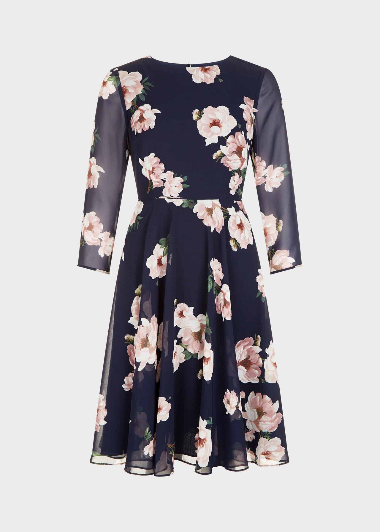 Norah Dress Midnight Blush