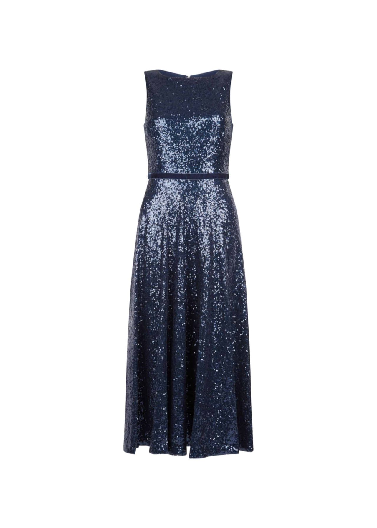 Carly Sequin Dress Midnight