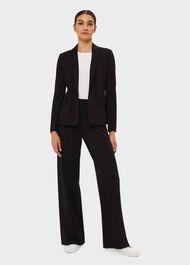 Pippa Jersey Jacket, Black, hi-res