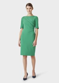 Geraldine Dress, Green, hi-res