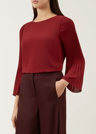 Juliana Top, Burgundy, hi-res
