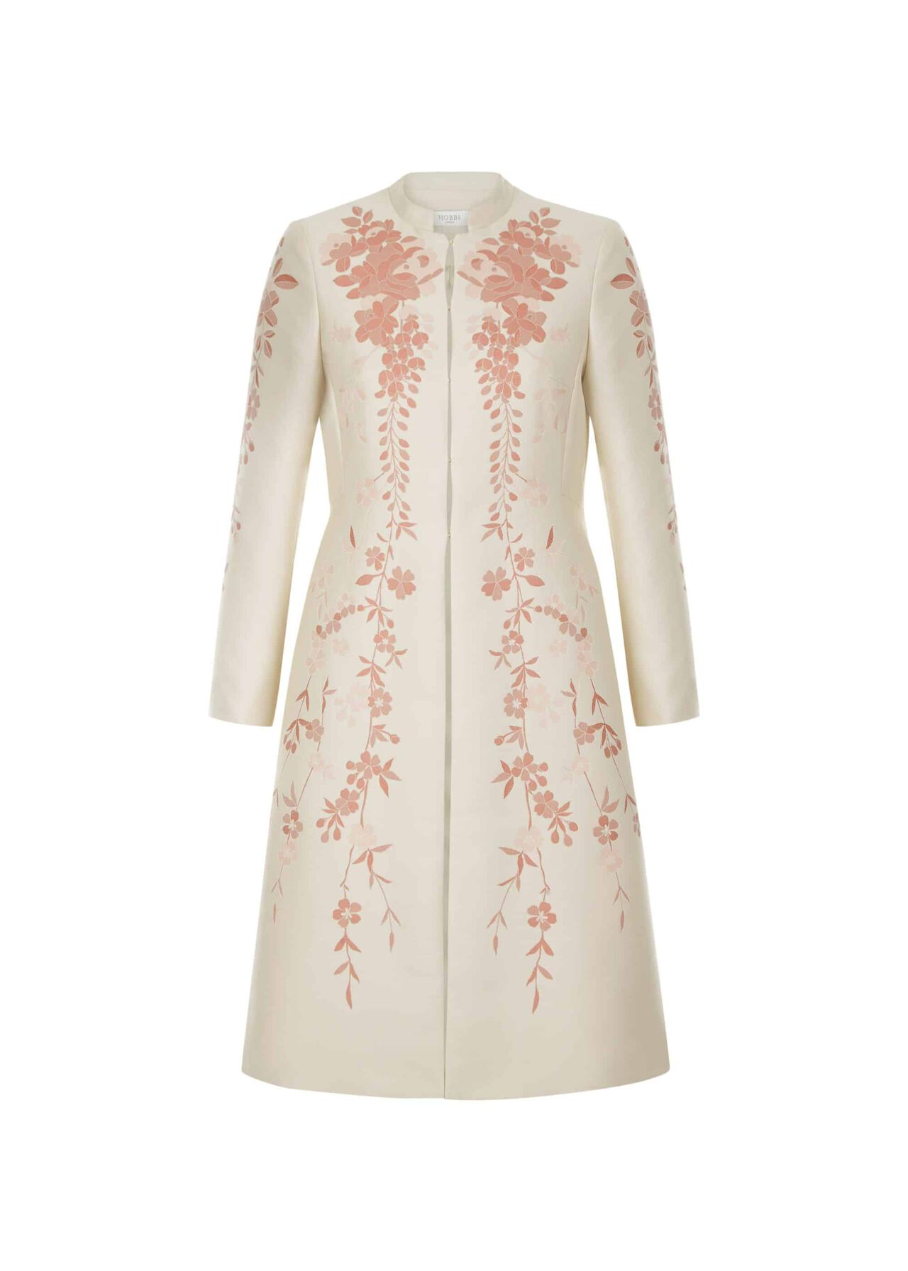 Melody Coat Oyster Posie