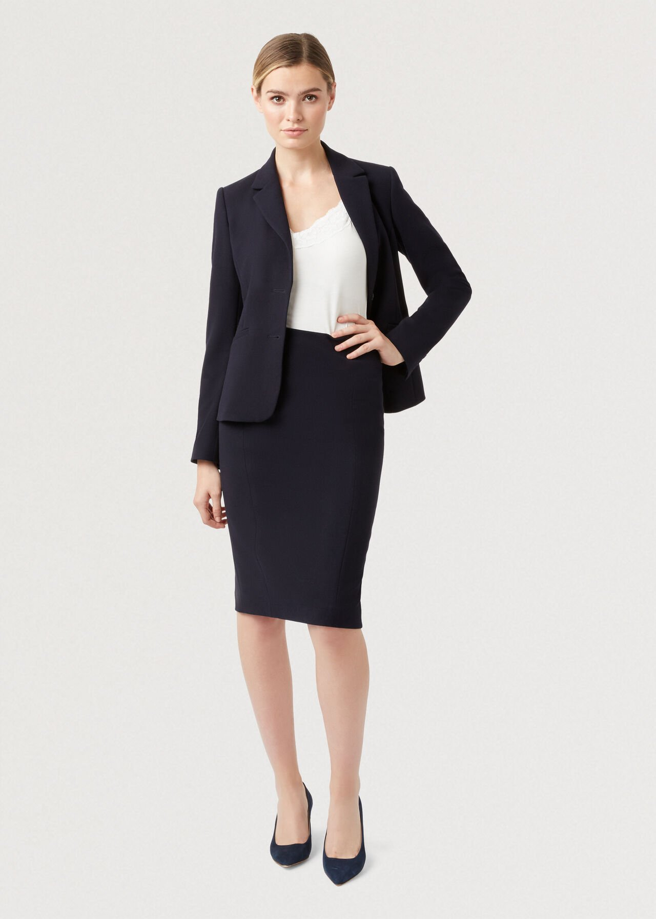 Leila Co-ord Skirt Suit, , hi-res