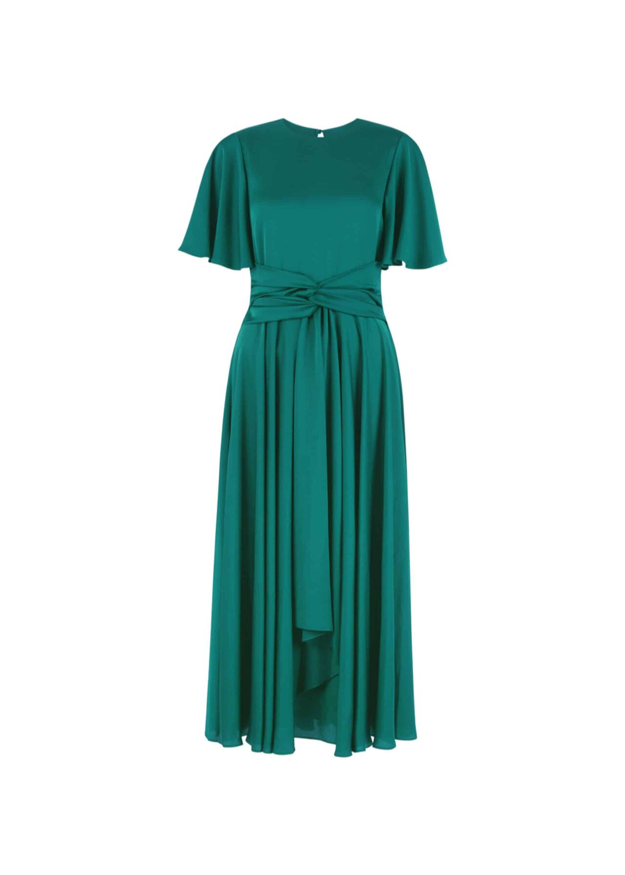Leia Dress Emerald Green