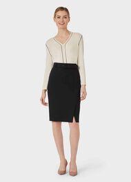 Bella Skirt, Black, hi-res