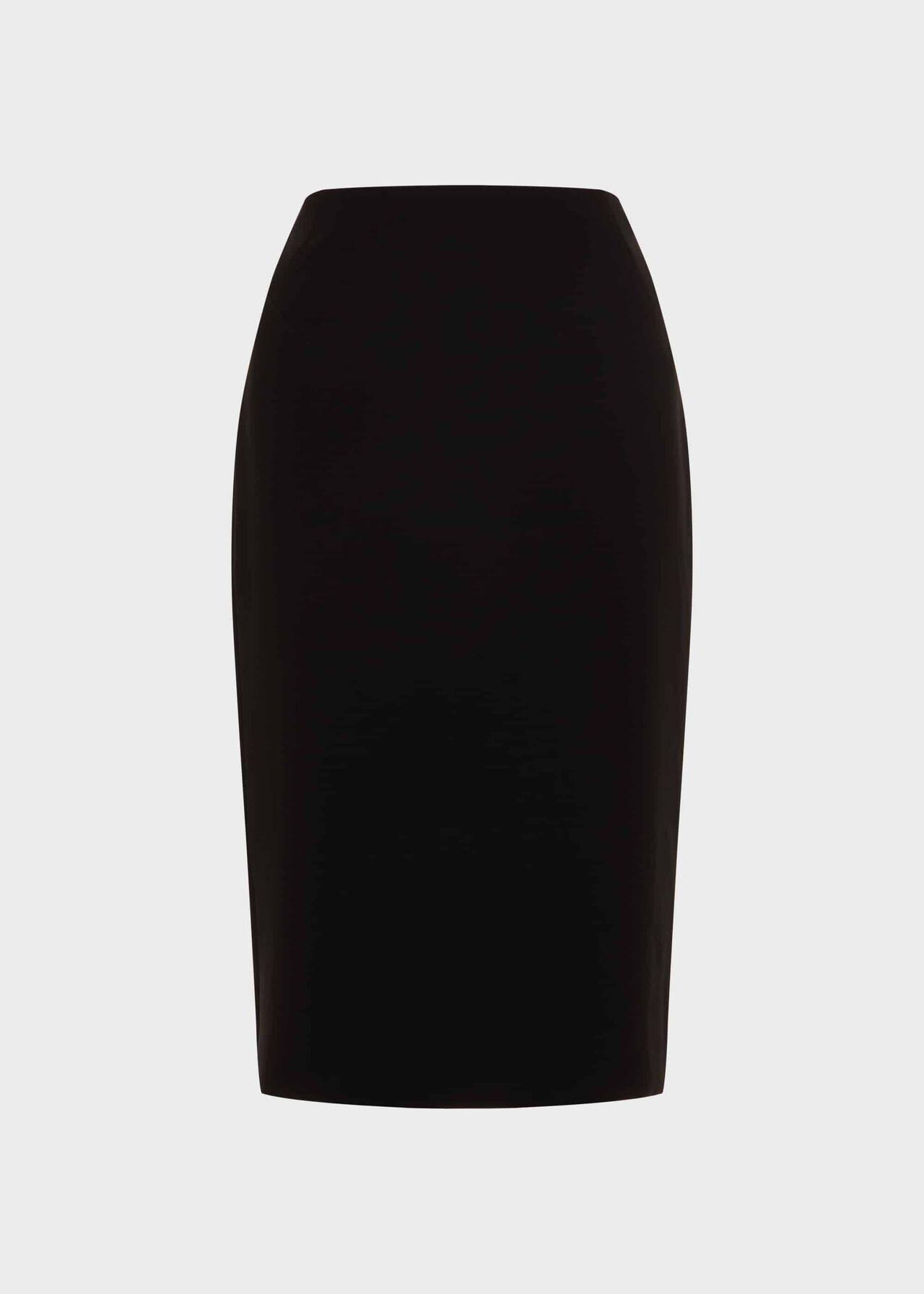 Alva Pencil Skirt Black