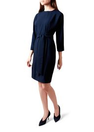 Renee Dress, Navy, hi-res