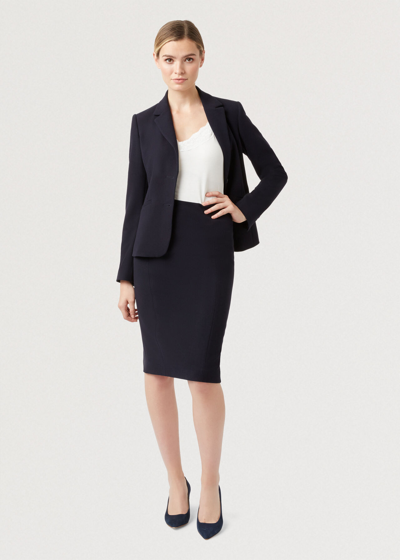 Petite Leila Co-ord Skirt Suit, , hi-res