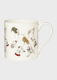 Whippet Print Mug, Multi, hi-res
