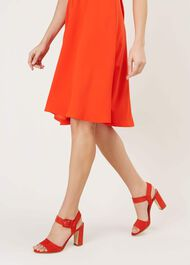 Rhian Sandal, Orange Red, hi-res