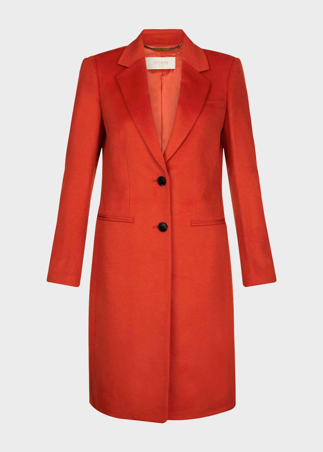 Tilda Wool Coat Burnt Orange