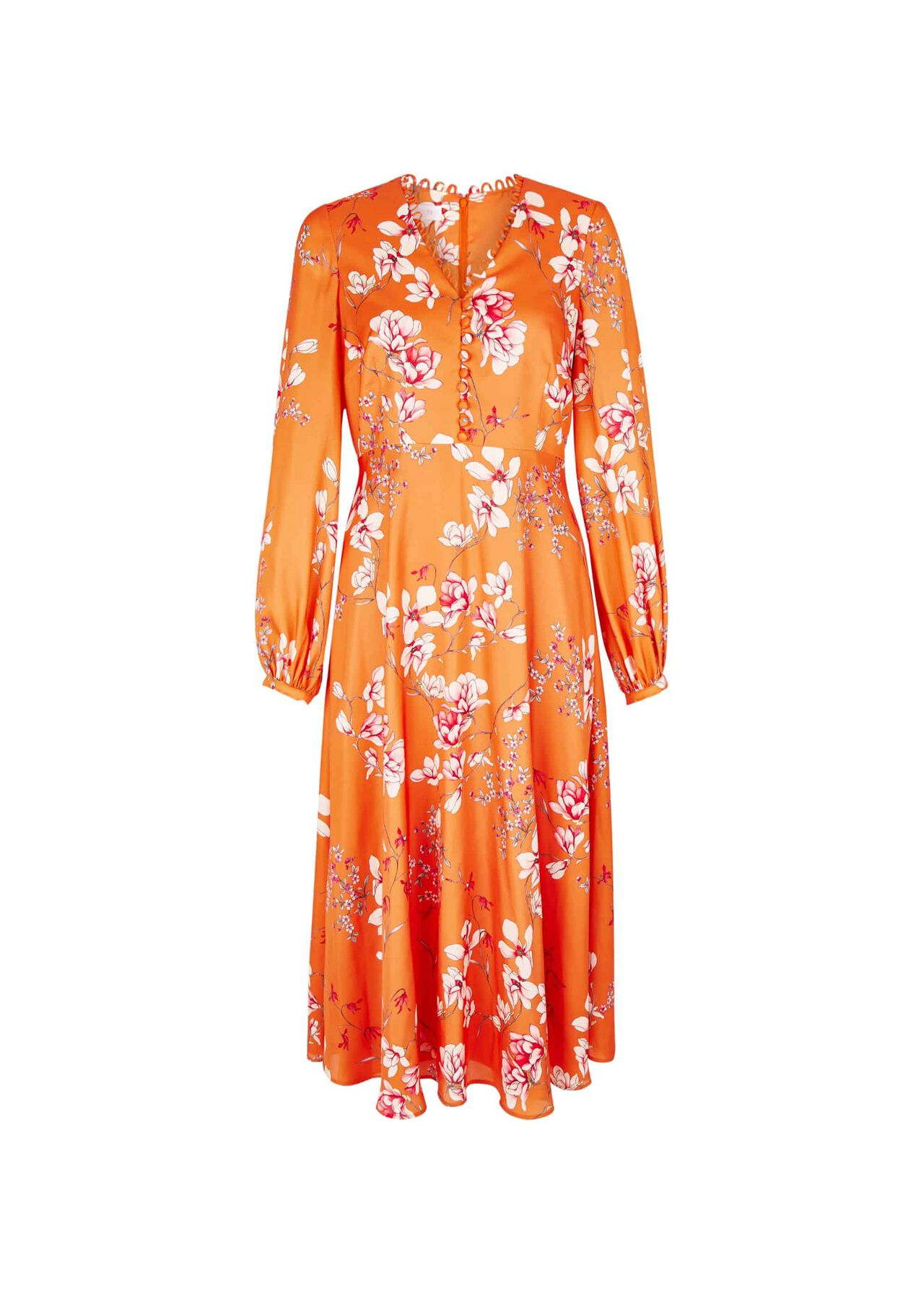 Ferrier Dress Orange