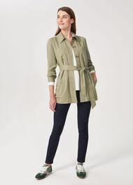 Kiara Utility Jacket, Light Green, hi-res