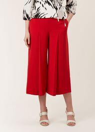 Vita trousers, Red, hi-res