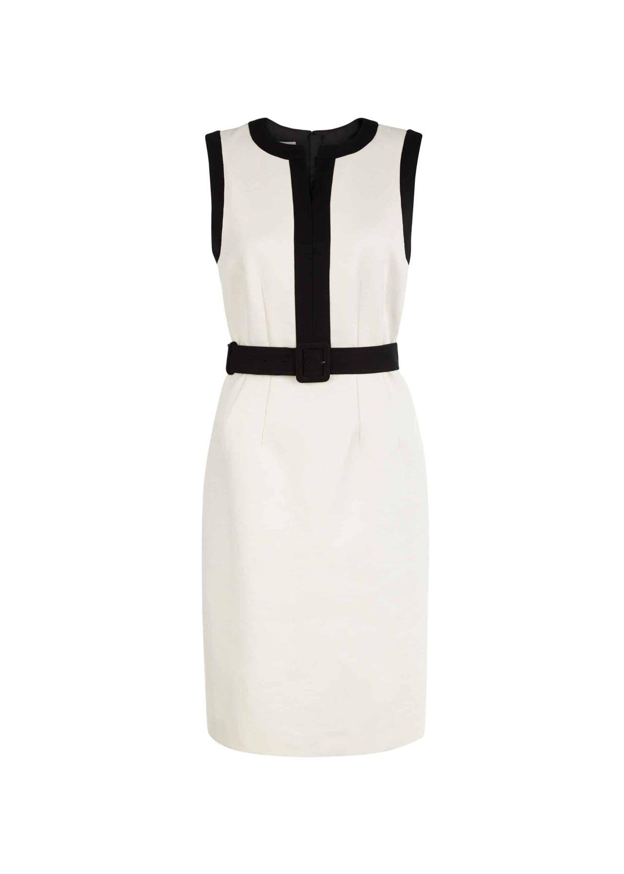 Alison Dress Neutral Black