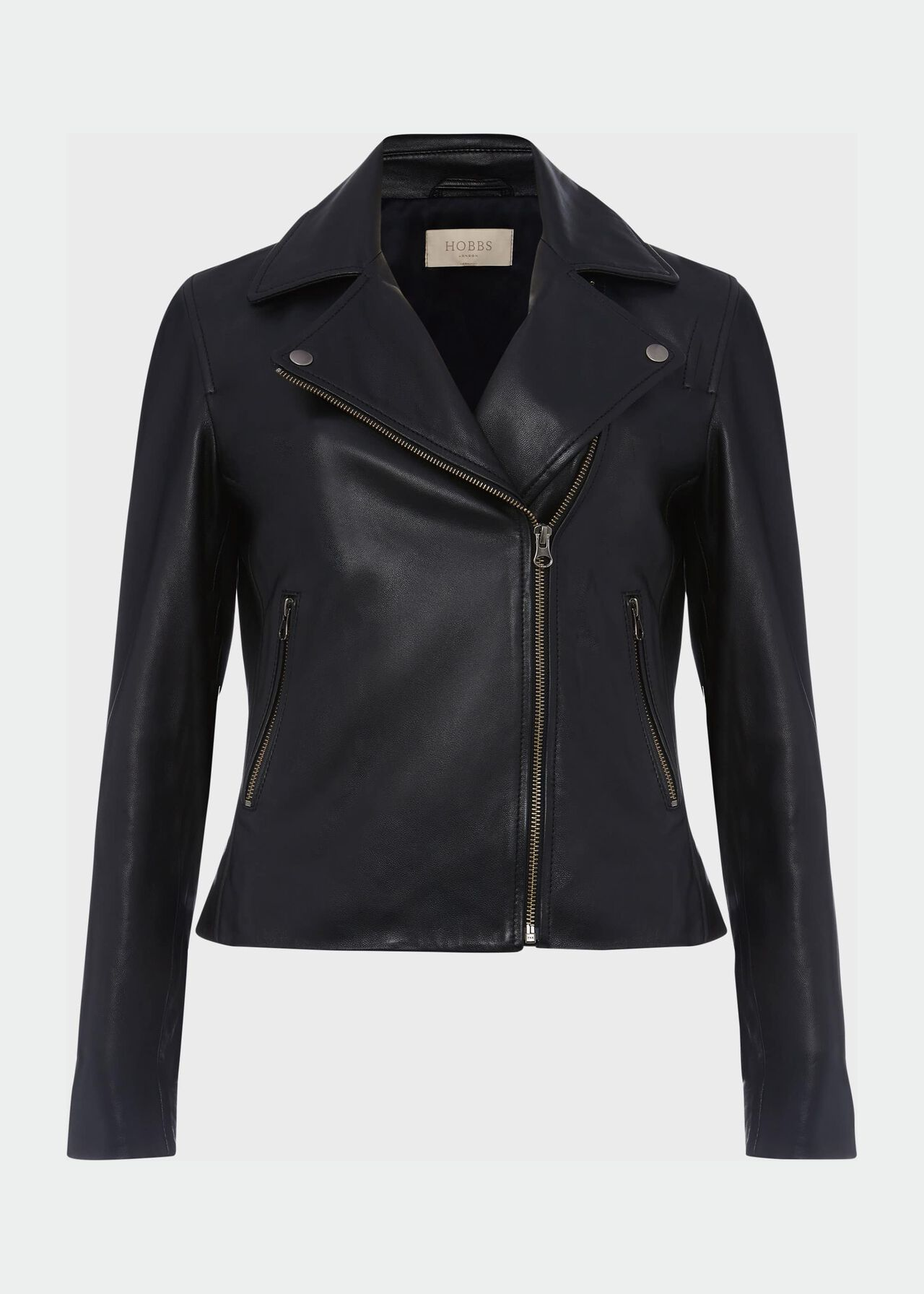 Tania Leather Jacket Black