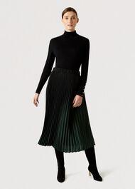 Tasha Skirt, Black Green, hi-res
