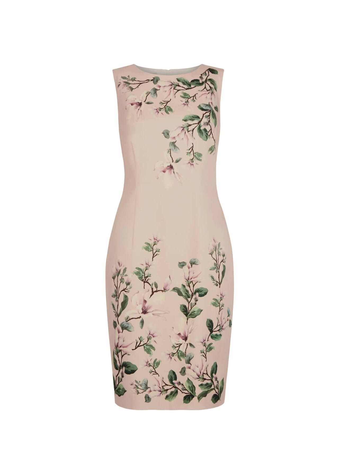 Fiona Dress Pale Pink Multi
