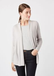 Amy Cardigan, Silver Grey, hi-res