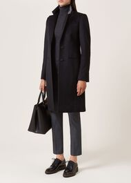 Tilda Wool Coat, Black, hi-res