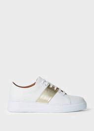 Cleo Trainer, White Gold, hi-res